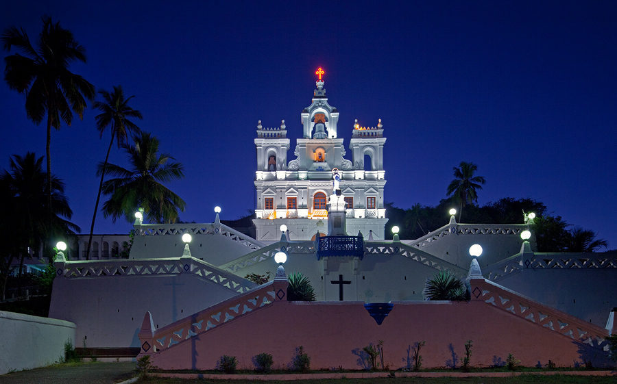 Panjim Church Night View