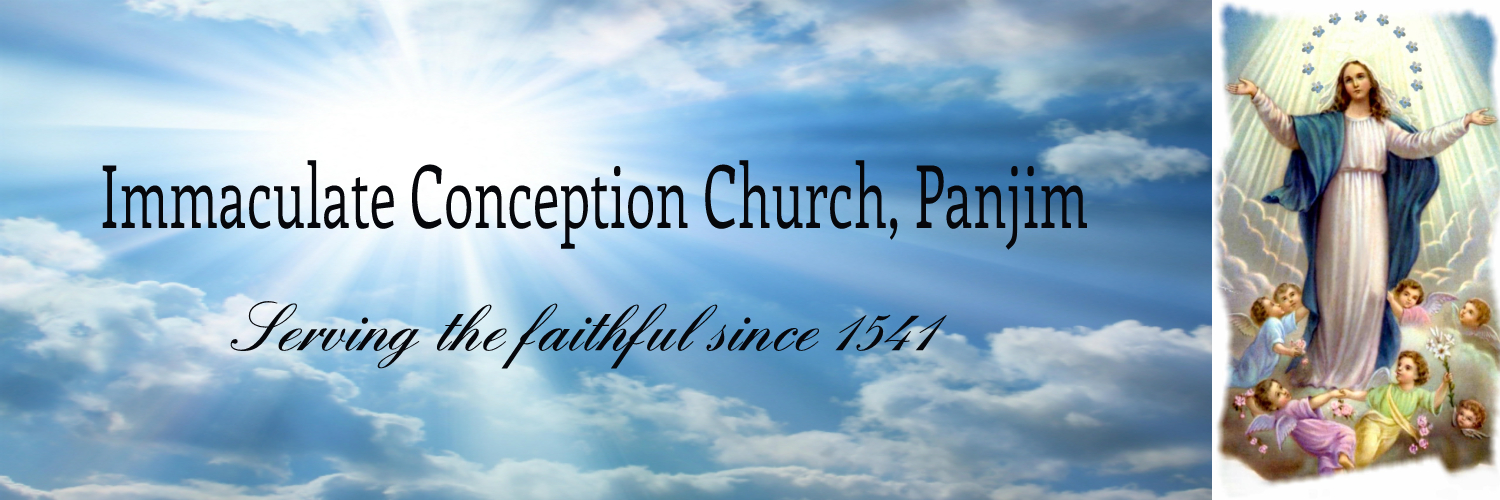 Official Website of Immaculate Conception Church, Panjim