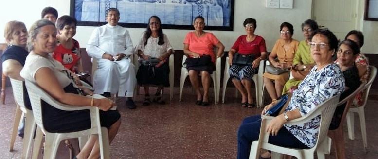 Meeting of Members of Society of St. Vincent de Paul
