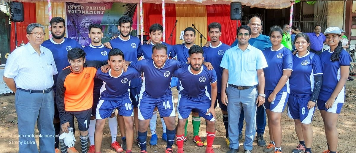 Our Youth participated in Panjim Deanery Inter Parish Tournament held on 8th October 2019 at Don Bosco ground